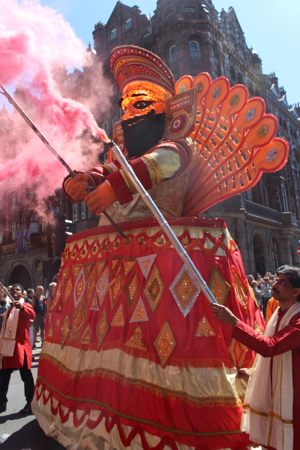 Theyyam at Walk the Plank's Manchester Day